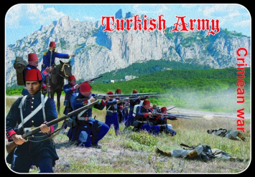 M052 Turkish Army Crimean War