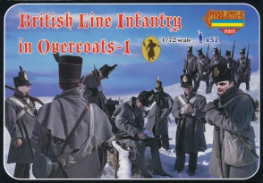M094 British Line Infantry in Overcoats