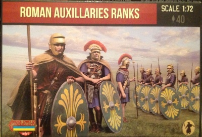M124 Roman Auxiliaries Ranks