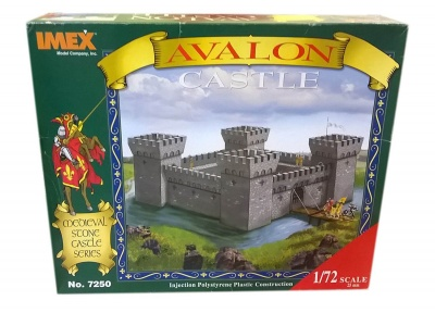 MEDIEVAL Avalon  Castle RARE BOX IMEX,  7251