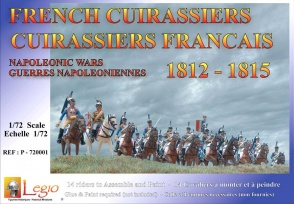 P-720001  French Cuirassiers