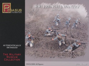 Pegasus  7199  WWI French Infantry