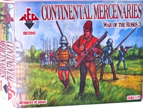 RB72042        War of the Roses 3. Continental mercenaries