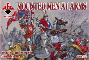 RB72045        War of the Roses 6. Mounted Men at Arms