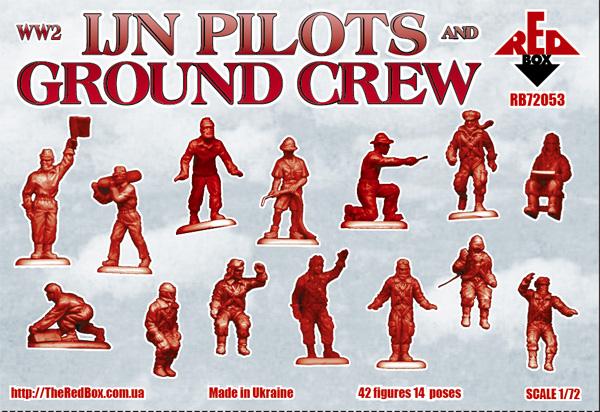 Новинки Orion/Red box/Dark/Light Alliance RB72053-WW2-IJN-pilots-and-ground-crew-extra-big-2629-580