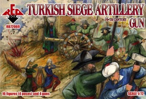 RB72069  Turkish Siege Artillery  16th century. Gun.
