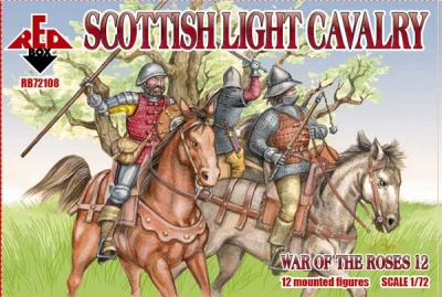 RB72108        War of the Roses 12. Scottish Light Cavalry