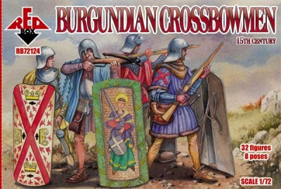 RB72124        Burgundian crossbowmen. 15 cent