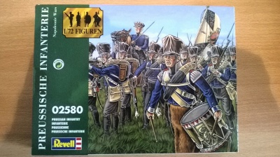 REVELL 2580 - PRUSSIAN INFANTRY NAPOLEONIC WARS - 1/72 COMPLETA SU SPRUES