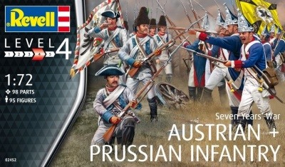 REVELL  Seven years war (austrian & prussian infantry)