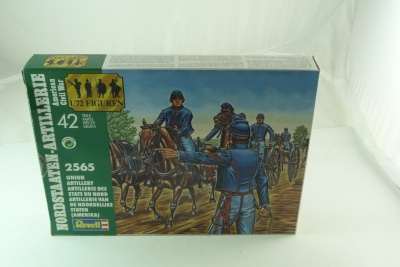 REVELL TOY SOLDIERS 1/72 - 02565 - AMERICAN CIVIL WAR Union Artillery -