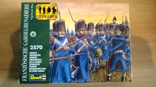 Revell 1:72 #2570 Napoleonic Wars French Grenadier Guards