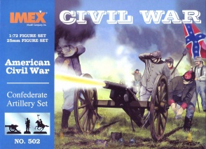 Set 502  Confederate Artillery