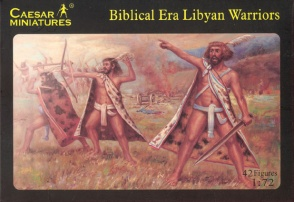 Set H022  Biblical Era Libyan Warriors