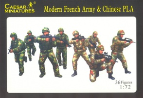 Set H059  Modern French Army & Chinese PLA