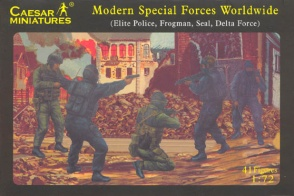 Set H061  Modern Special Forces Worldwide