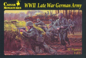 Set H074  WWII Late War German Army