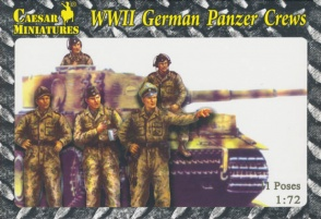 Set HB03  WWII German Panzer Crews