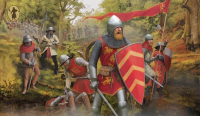 Strelets - M118 English Foot Soldiers XIII-XIV Century