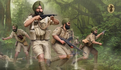 Strelets - M119 Indian Brigade Infantry WWII