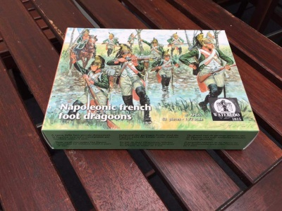 WATERLOO 1815 AP041  Napoleonic French Foot Dragoons