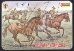 WWI 072 German Uhlans