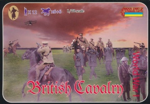 WWI 075 Early WWI British Cavalry