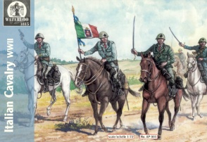 001	World War II Italian Cavalry