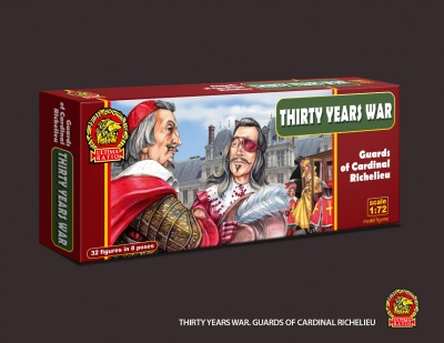 012 Thirty Years War - Guards of Cardinal Richelieu