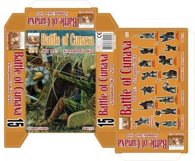 015 Battle of Cunaxa 401 B.C. Set 1