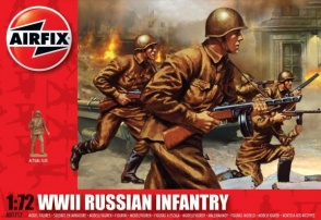 01717 - WWII Russian Infantry