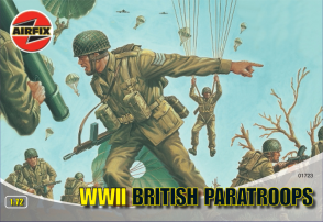 01723 - WWII British Paratroops