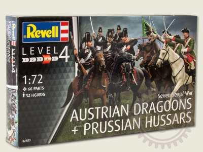02453 - Seven Years War Prussian and Austrian cavalry