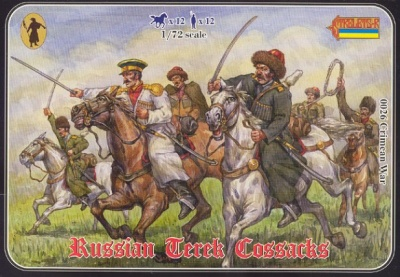 026 Crimean Russian Mounted Terek Cossacks