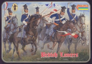 036Crimean War British Lancers