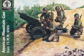 038	World War II American 75mm Mountain Gun