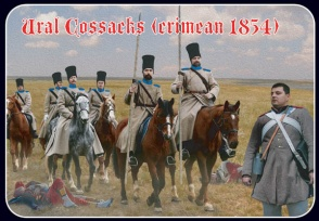 064 Napoleonic/Crimean Ural Cossacks
