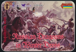 067 Russian Dragoons in Winter Dress