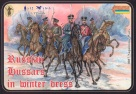 087 Russian Hussars in Winter Dress