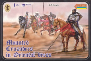 104 Mounted Crusaders in Oriental Dress