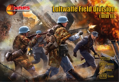 110 - WWII Luftwaffe Field Division Infantry