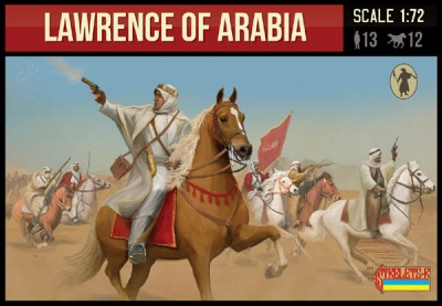 115 Lawrence of Arabia Cavalry WWI - CON PERSONAGGIO