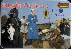 127 - Crusader Transport 2 Crusades Figures