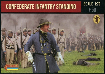 156 - A.C.W. Confederate Infantry Standing - Gettysburg