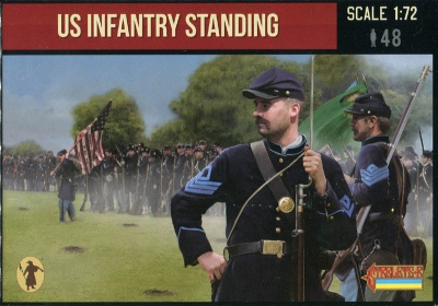 157 - A.C.W. US Infantry Standing - Gettysburg