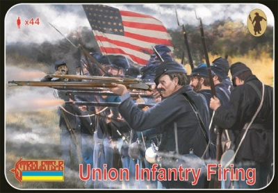 159 A.C.W.  Union Infantry Firing
