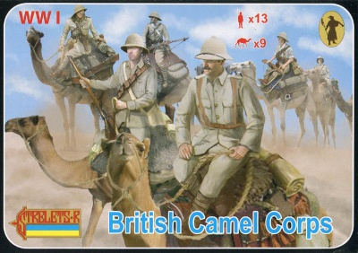 165 WWI British Camel Corps
