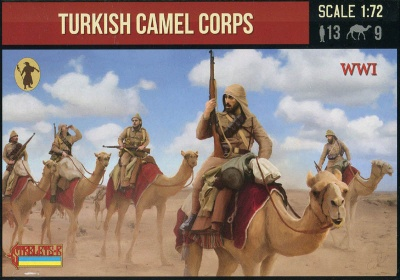 167 WWI Turkish Camel Corps