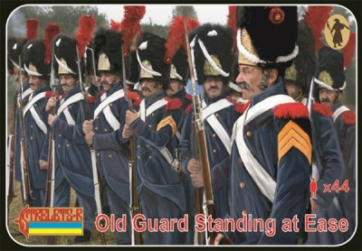 170 Napoleonic  Old Guard Standing at Ease