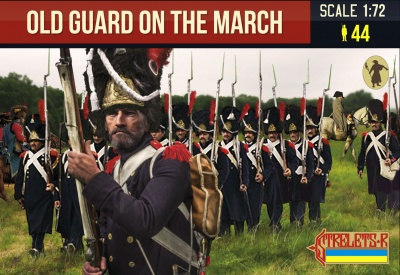 181 Old Guard on the March Napoleonic